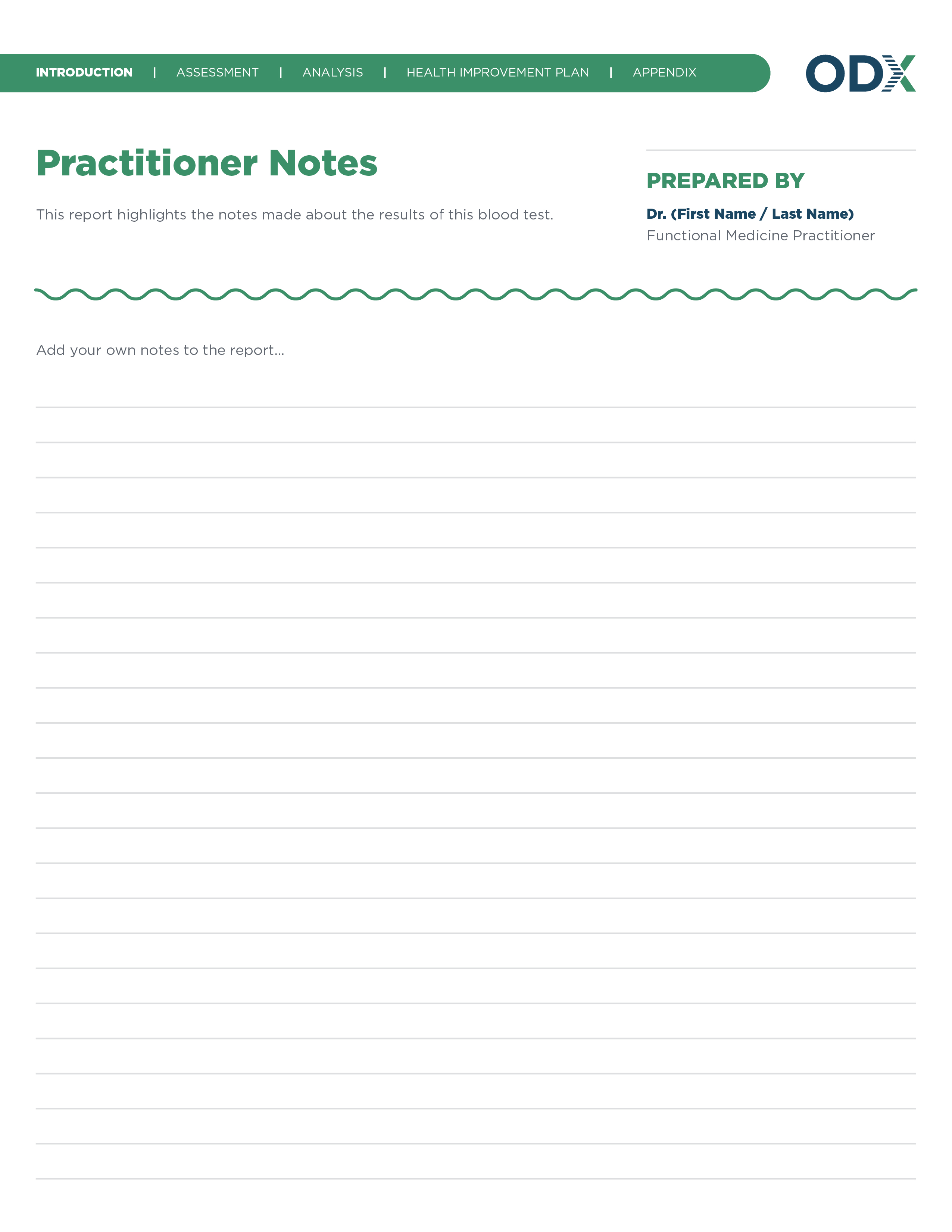 All Report Design for New Site_Practitioner Notes-