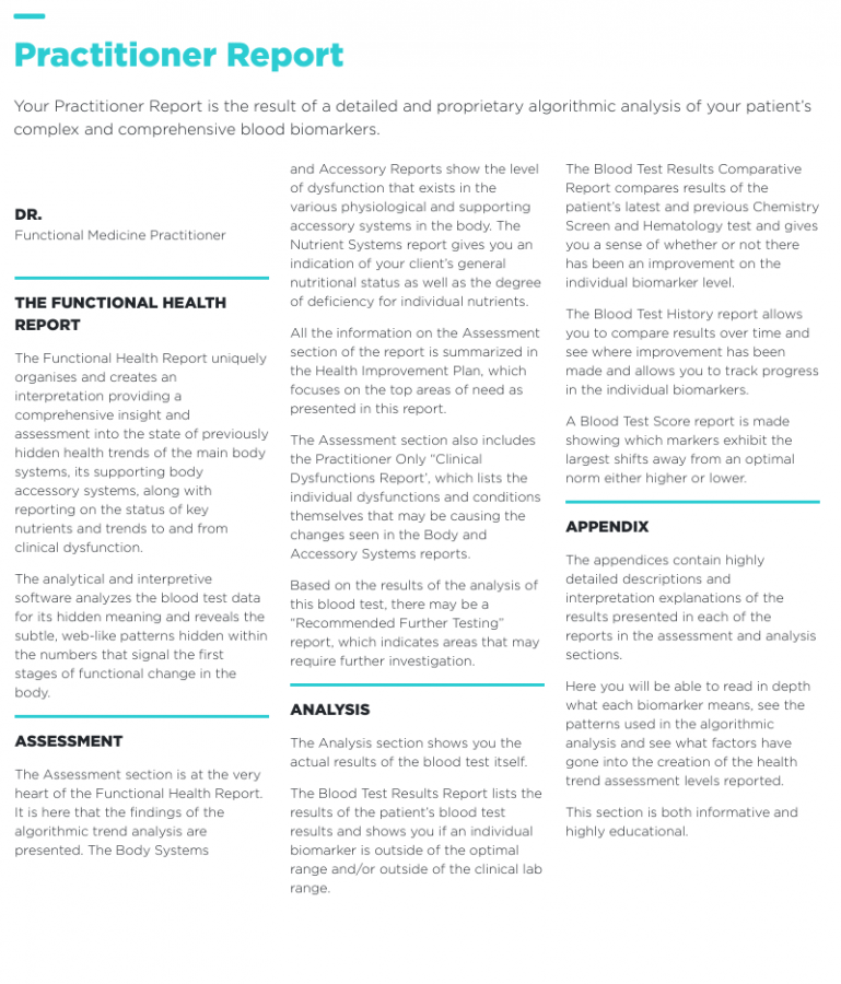 Practitioner Report